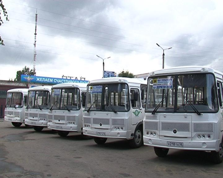 Курский городской автопарк пополнился на восемь автобусов