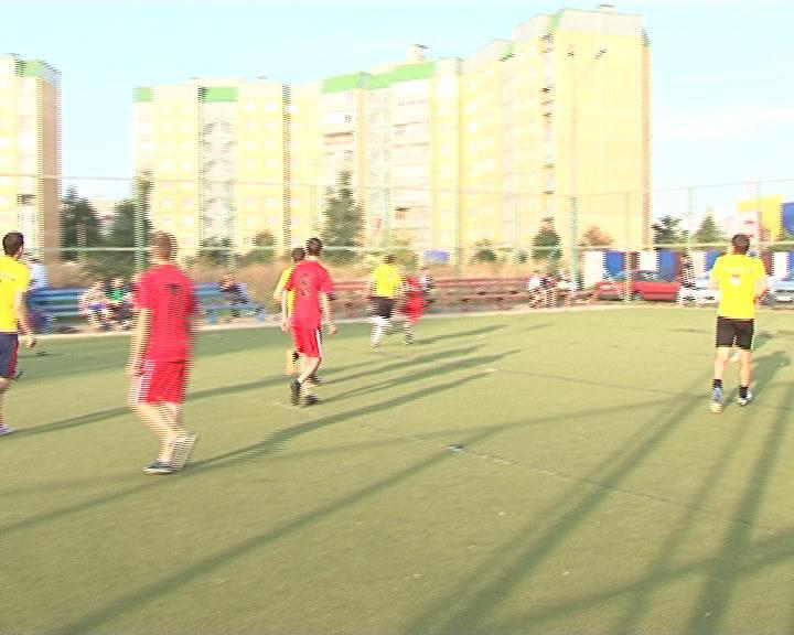 В Курске прошел Чемпионат «Европы» по футболу.