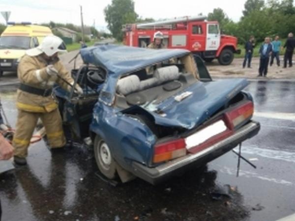 В Курской области в ДТП погиб водитель «семерки»