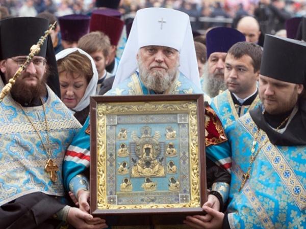 В Курск прибудет образ чудотворной иконы «Знамение»