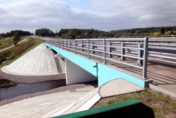 В Курской области завершили ремонт моста