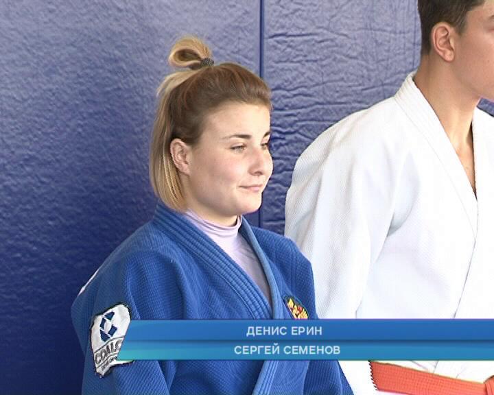 Курская дзюдоистка успешно выступила на международном турнире
