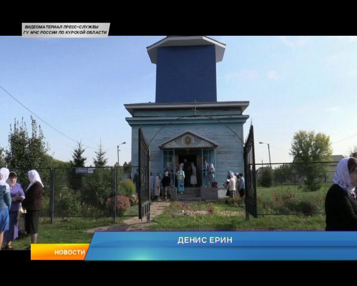 Крестный ход  в деревне Пименово Курского района