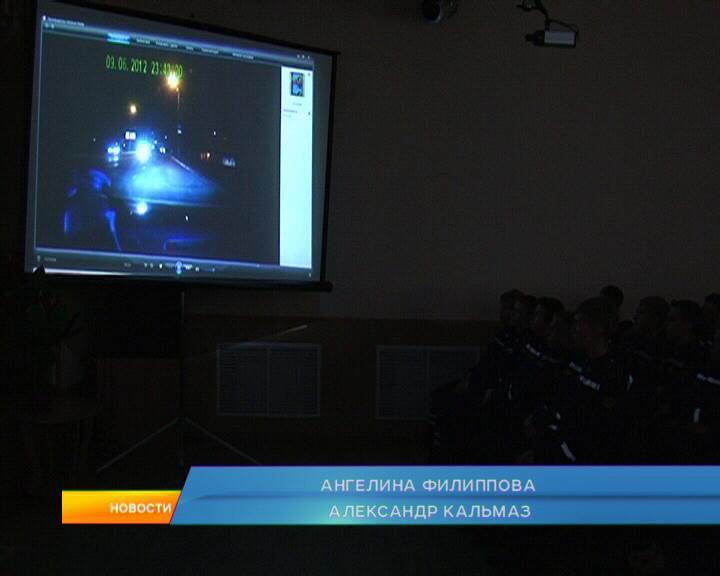 Курск. Сотрудники ГИБДД о безопасности на дороге.