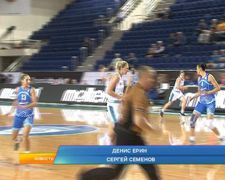 Курские женские баскетбольные команды вступили в борьбу за Кубок России.