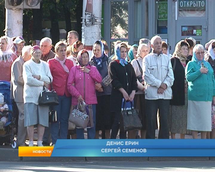 Курская Коренная икона Божьей Матери «Знамение» прибыла на свою историческую Родину.