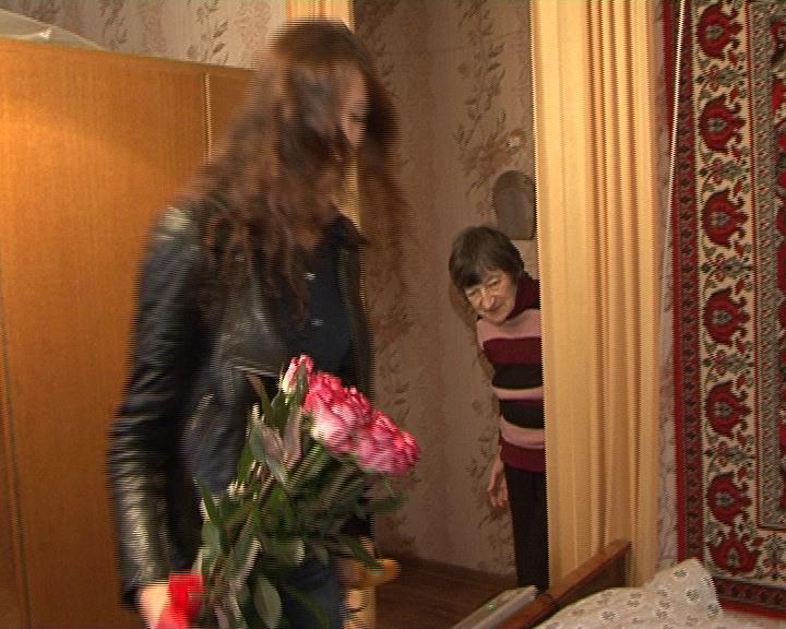 Курск. 103 года отметила ветеран войны и труда - Вера Ивановна Мануйлова.