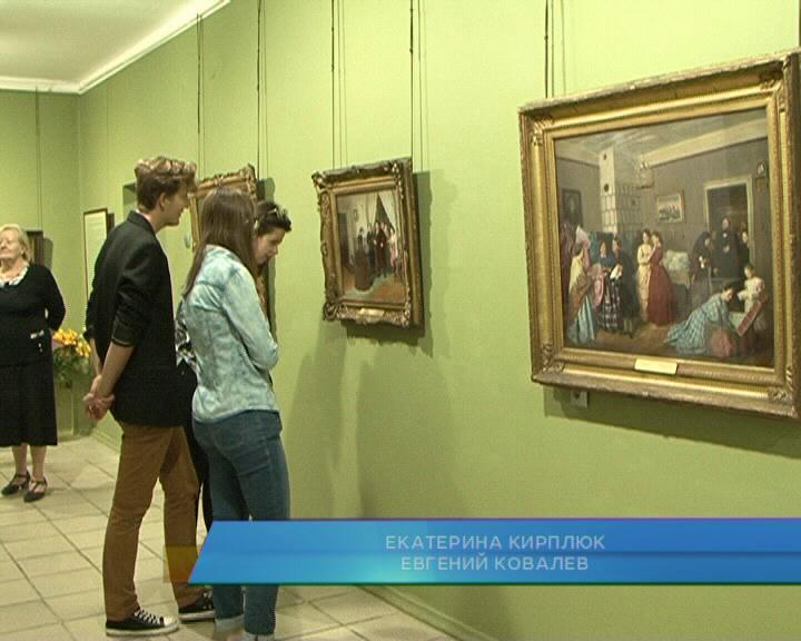 В Курске открылась выставка из собрания государственной Третьяковской галереи.