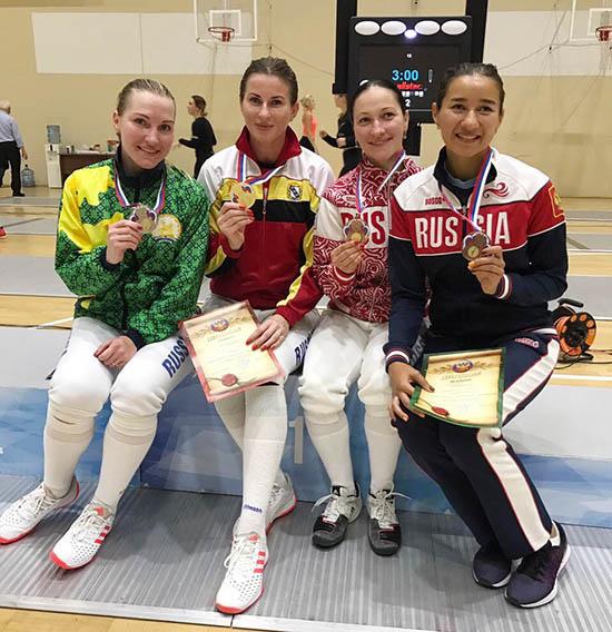Инна Дериглазова начала новый сезон с победы на турнире в Сочи