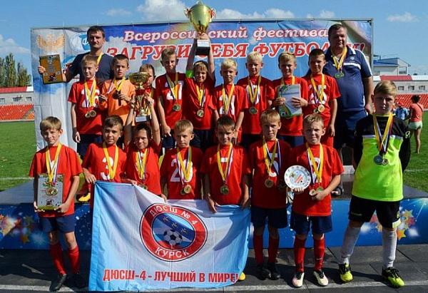 Юные куряне забили 37 мячей на турнире Детской футбольной лиги
