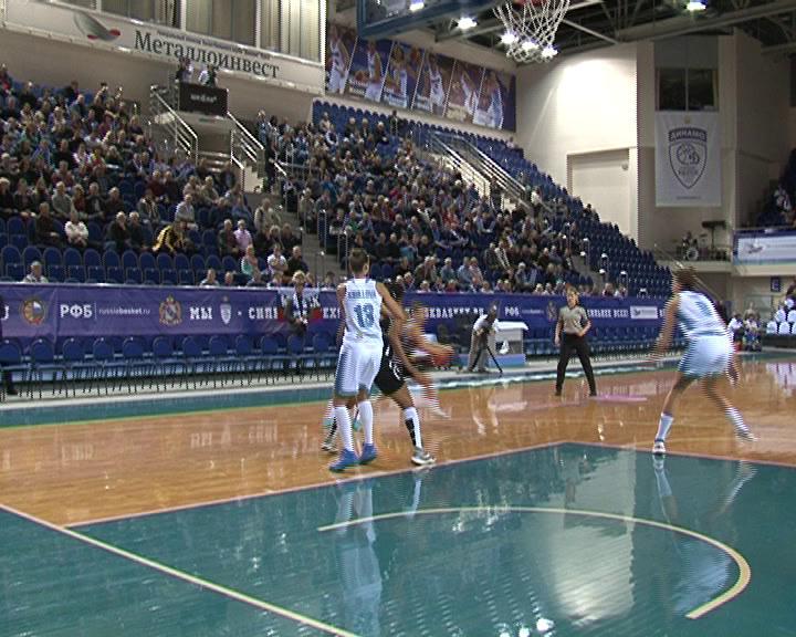 Курское Динамо провело первую игру нового сезона Евролиги