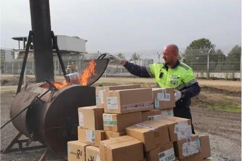 В Курской области уничтожили 20 килограммов санкционной колбасы