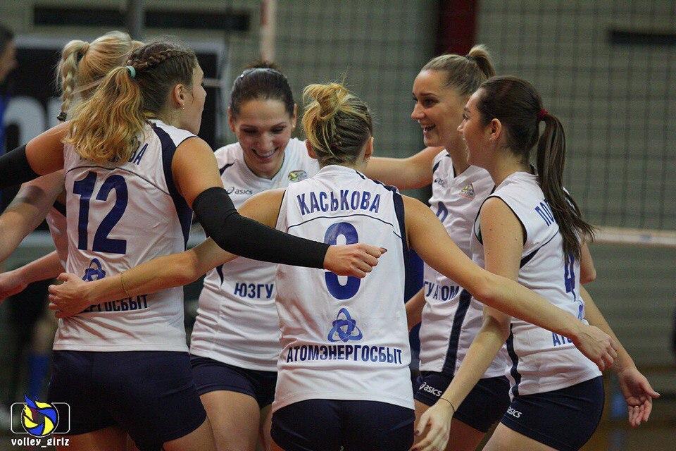 Курский волейбольный клуб ЮЗГУ-Атом не знает поражений на старте сезона