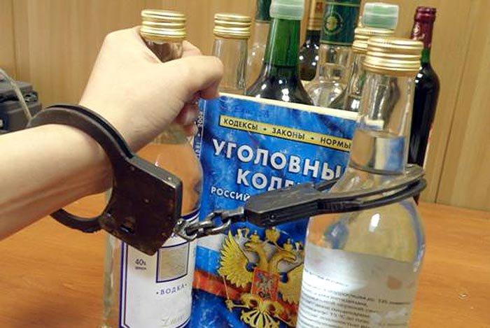 Курянин крал алкоголь, чтобы купить наркотики