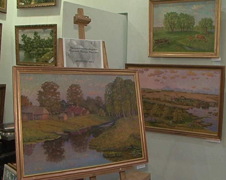 Впервые в Курск свои полотна привез живописец Виктор Куприянов.