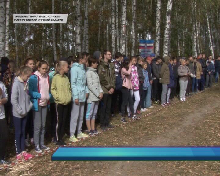 В Курске прошло первенство по туризму