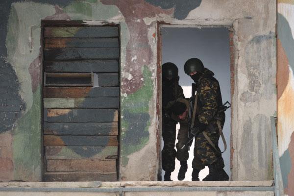 Курские силовики обезвредили условных преступников