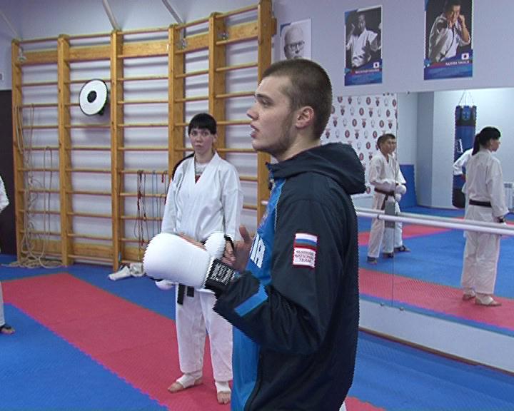 В Курске выступил трехкратный победитель Чемпионата мира по всестилевому карате