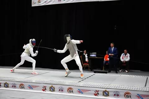 Курская рапиристка удачно выступила на турнире Европейского кадетского цикла