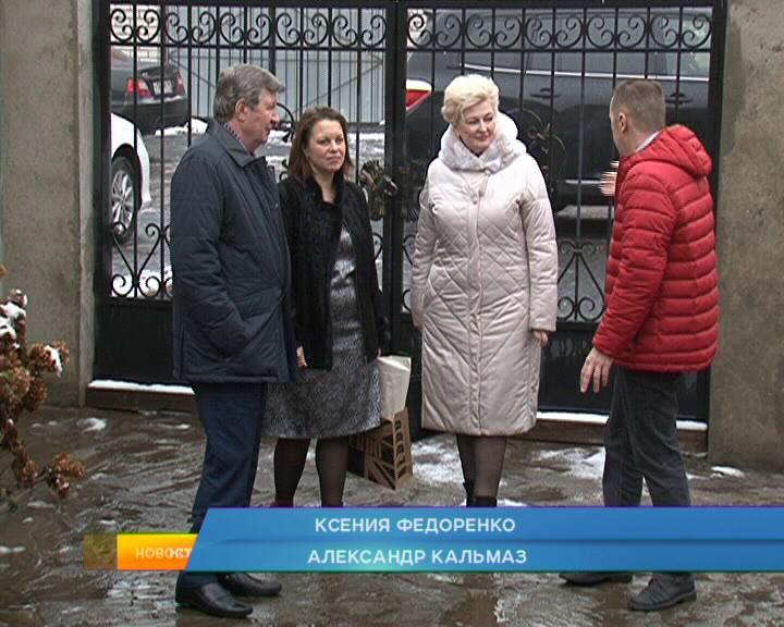 Глава Администрации Курска побывал в гостях у многодетной семьи.
