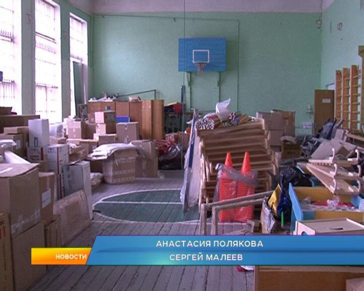 В поселке Медвенка продолжается строительство новой школы