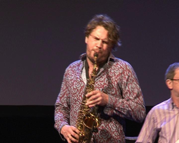 Участники 22-ого Международного фестиваля «Джазовая провинция» дали заключительный концерт в Курске.