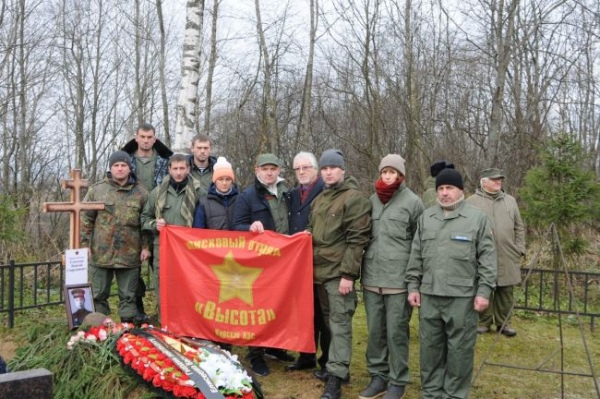 Курские волонтеры завершили «Вахту памяти-2017»