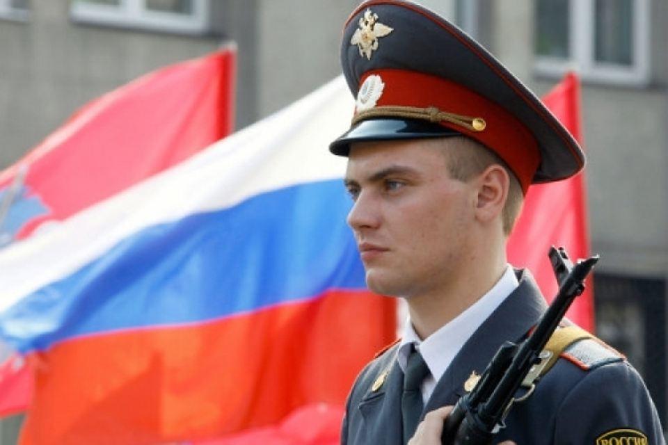 Курские полицейские отмечают День сотрудников внутренних дел
