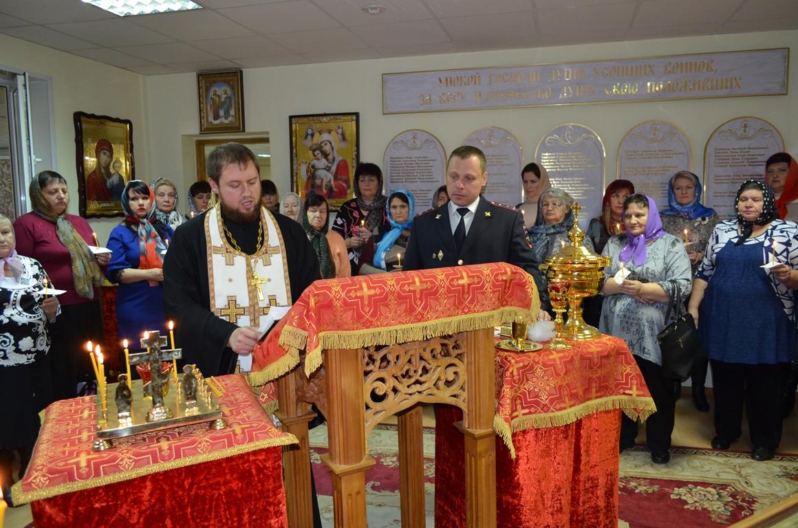 Курские полицейские почтили память погибших коллег