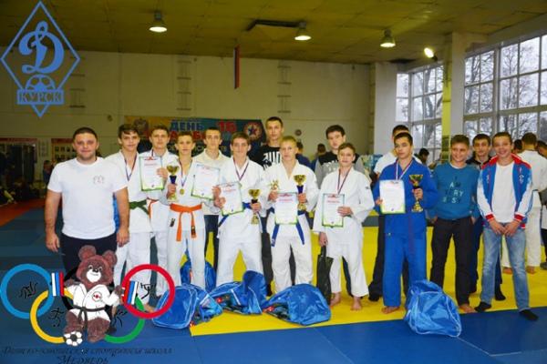 Курские дзюдоисты успешно выступили на турнире в Брянске