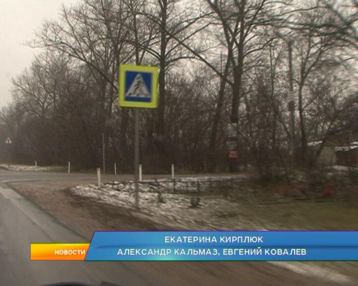 Близ деревни Татаренкова на темном пешеходном переходе водитель не заметил школьника.