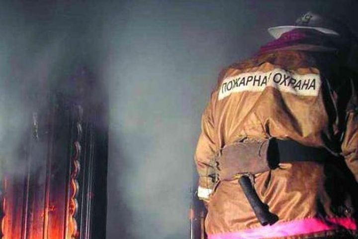 В Курской области на пожаре погибла пожилая женщина
