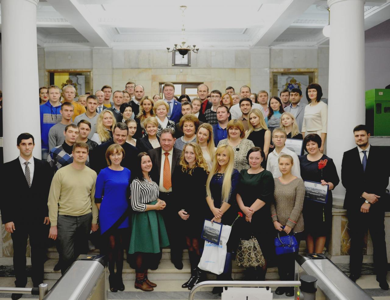 Губернатор Курской области встретился с молодыми управленцами