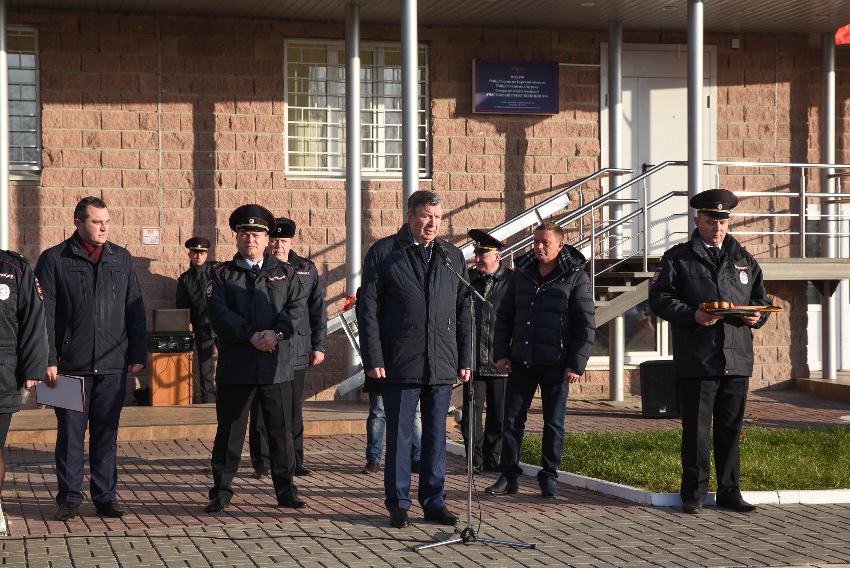 В Курске открыли новый пункт полиции