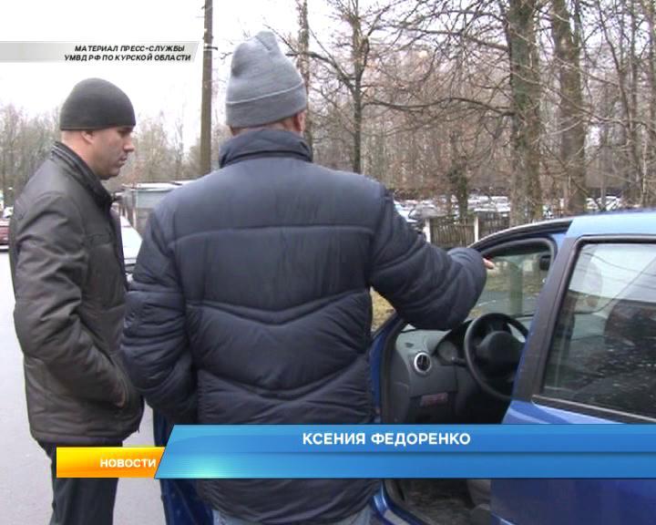 Курская область. В Железногорском районе напали на таксиста.