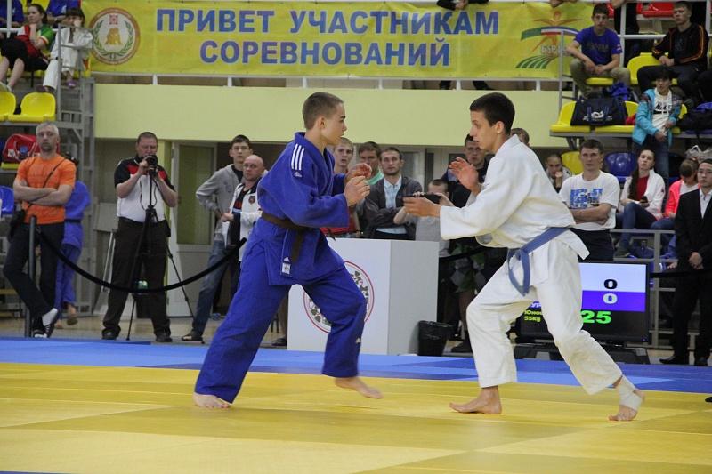 Курянин удачно выступил на Спартакиаде среди учащихся России