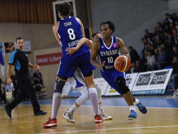 Курские баскетболистки обыграли француженок в Евролиге