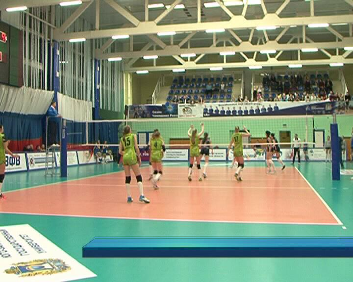 Курские волейболистки в этом сезоне нацелены на выход в Суперлигу.