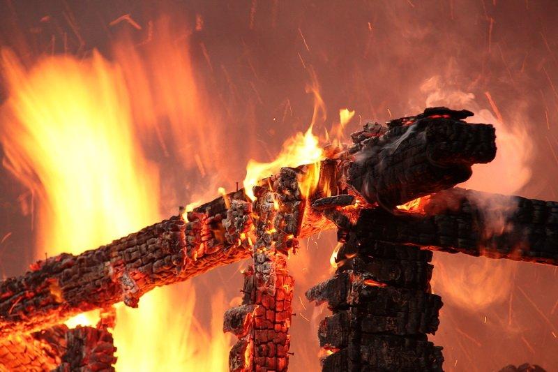 В Курской области стало меньше пожаров