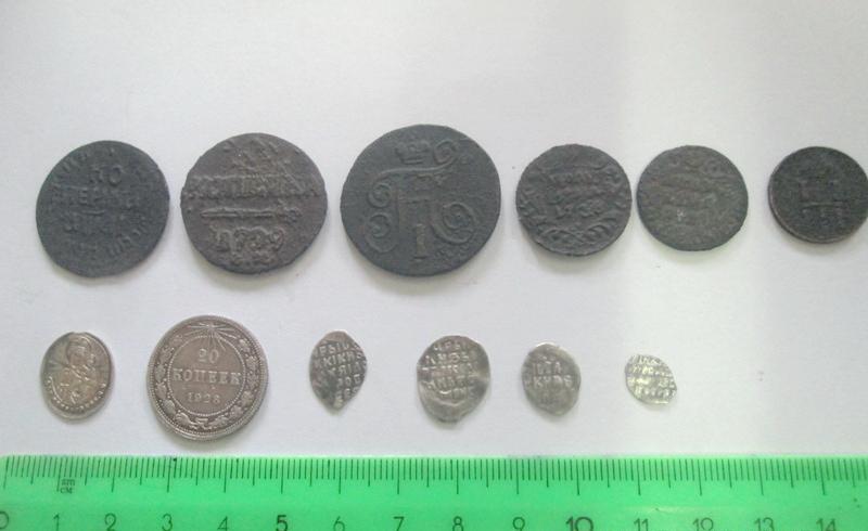 Через курскую таможню пытались провезти редкие монеты