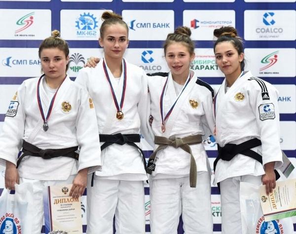 Курская дзюдоистка вошла в число призеров на первенстве России